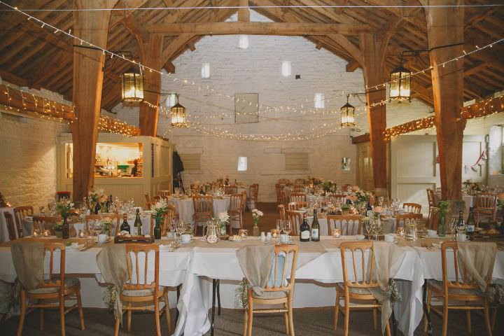 Peach and Grey East Riddlesden Hall Barn Wedding with lots ...