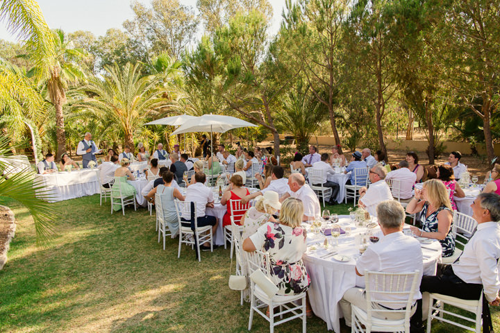 Portugal Wedding outdoors in the Algarve By Matt and Lena Photography