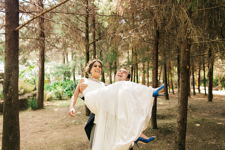Rafa and Claudia's Mexico Manolo Shoes destination wedding in Valle de Bravo By Paul Joseph Photography