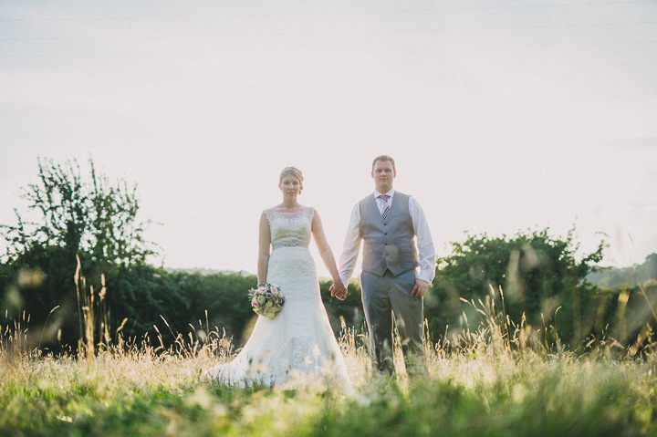 Devon Wedding couple at Colehayes Park By John Barwood Photography