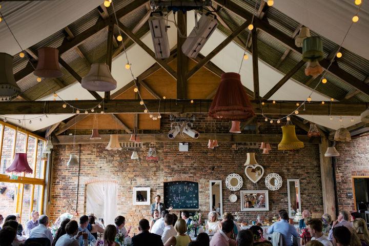 Yorkshire Barmbyfield Barns speeches Wedding By Stott and Atkinson