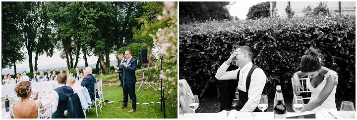Tuscany speeches Wedding By Helen Abraham Photography