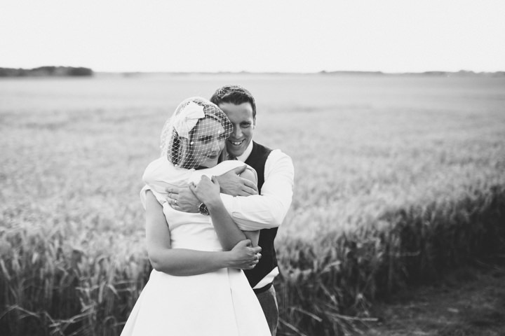 Yorkshire Barmbyfield couple in corn Barns Wedding By Stott and Atkinson