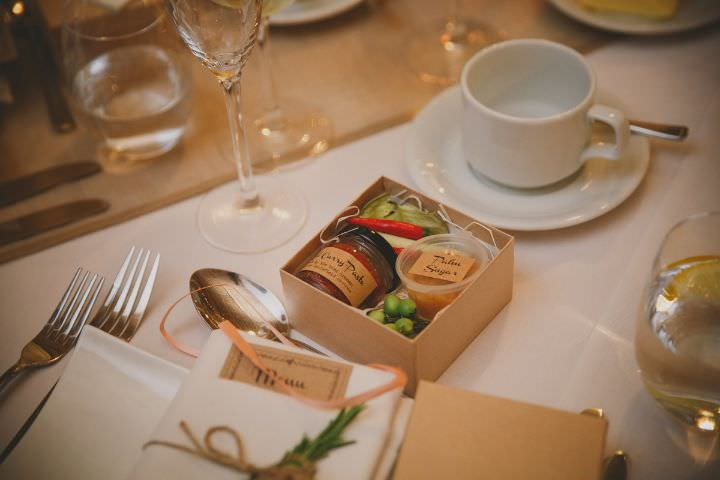 Emily and Jonny's Rustic Peach and Grey Wedding favours Barn Wedding By Soul Images