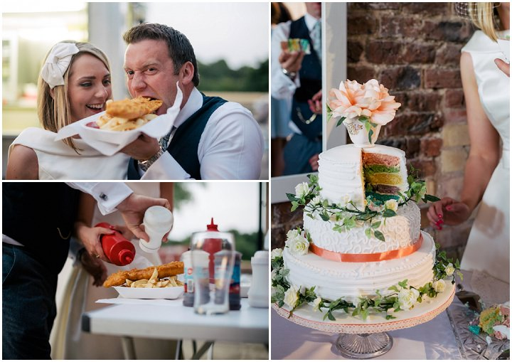 Yorkshire Barmbyfield wedding cake Barns Wedding By Stott and Atkinson