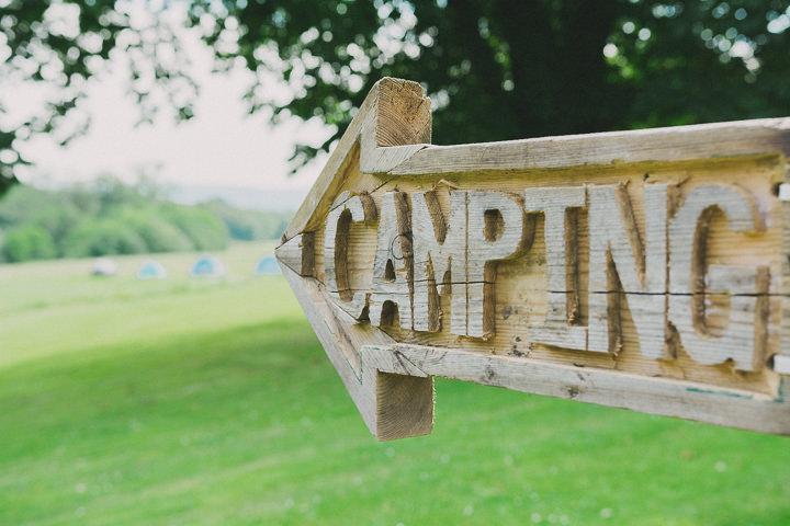 Devon Camping Wedding at Colehayes Park By John Barwood Photography