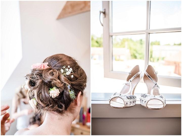 Wedding at Bassmead wedding shoes Manor Barn Cambridge By Dewan Demmer Photography
