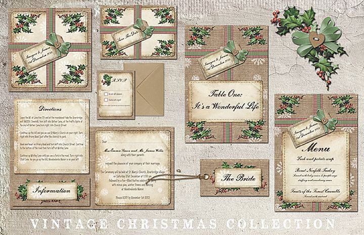 Boho Pins: Top 10 Pins of the Week from Pinterest: Christmas Stationery for Weddings