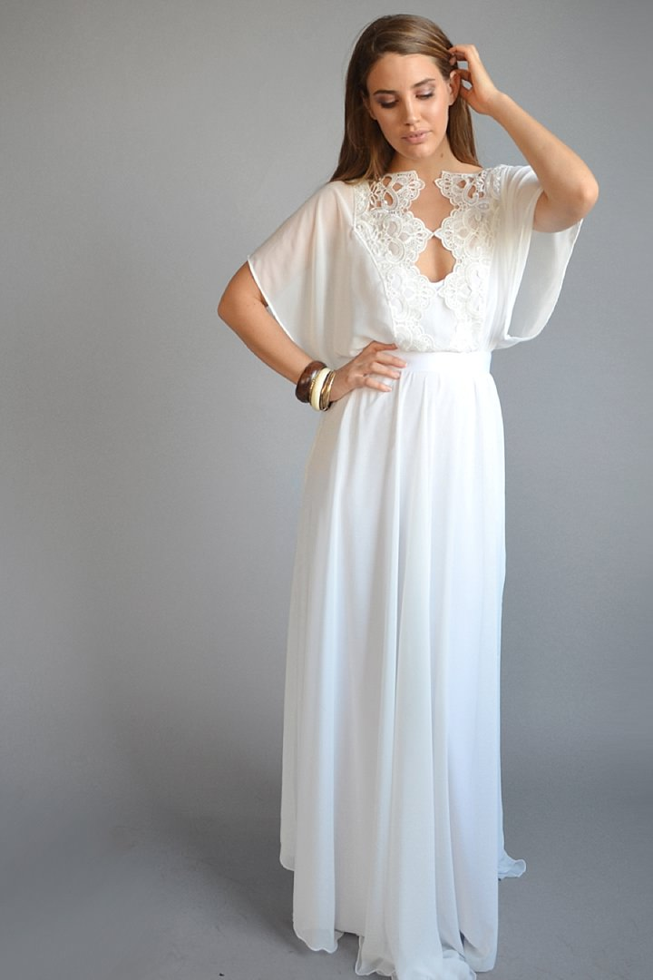 Bridal Style: Barzelai Bride - Dresses that are effortless yet chic and feminine