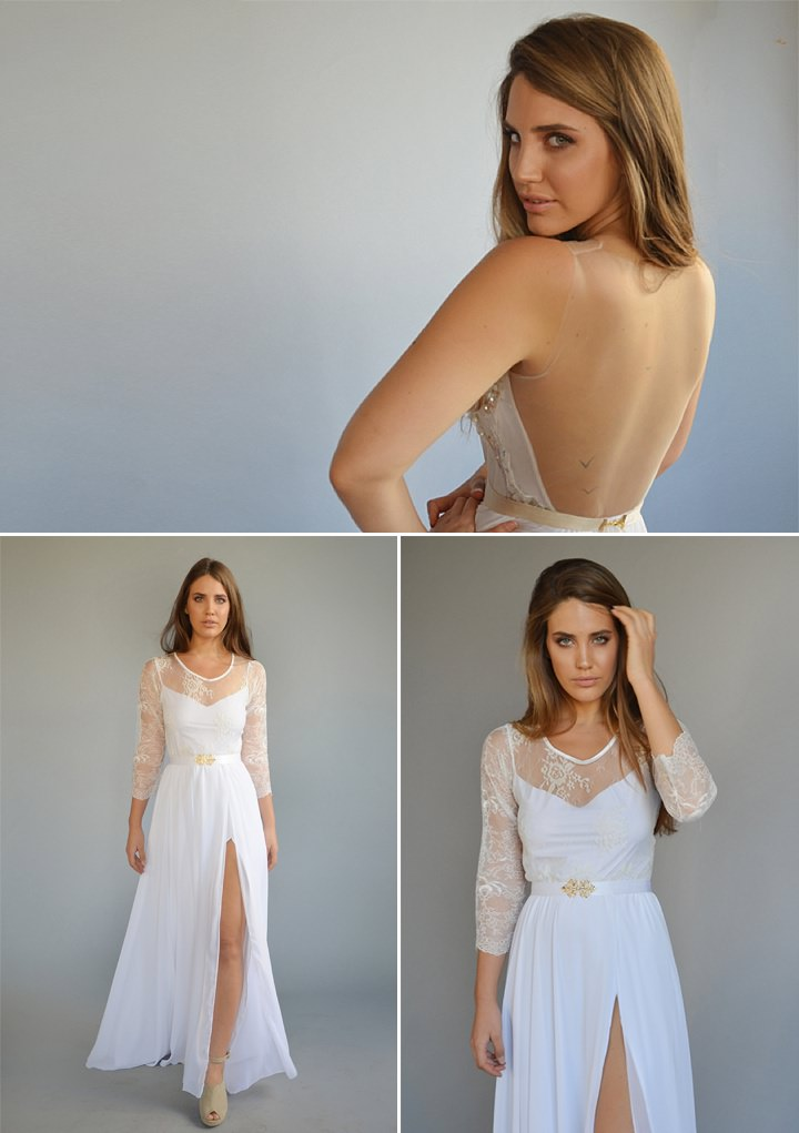 Bridal Style: Barzelai Wedding Bride - Dresses that are effortless yet chic and feminine