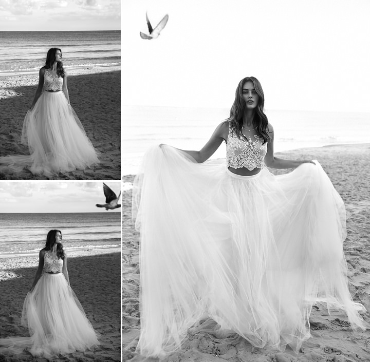 Bridal Style: Lihi Hod on the beach - White Bohemian 2016 collection