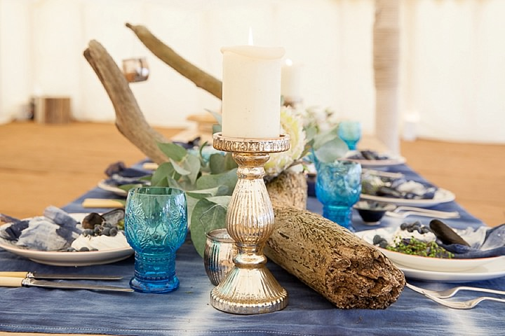 Outdoors Bohemian table plan Beach Wedding Inspiration