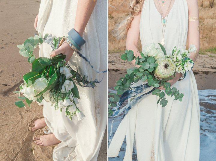 Outdoors Bohemian Wedding Beach Wedding Inspiration