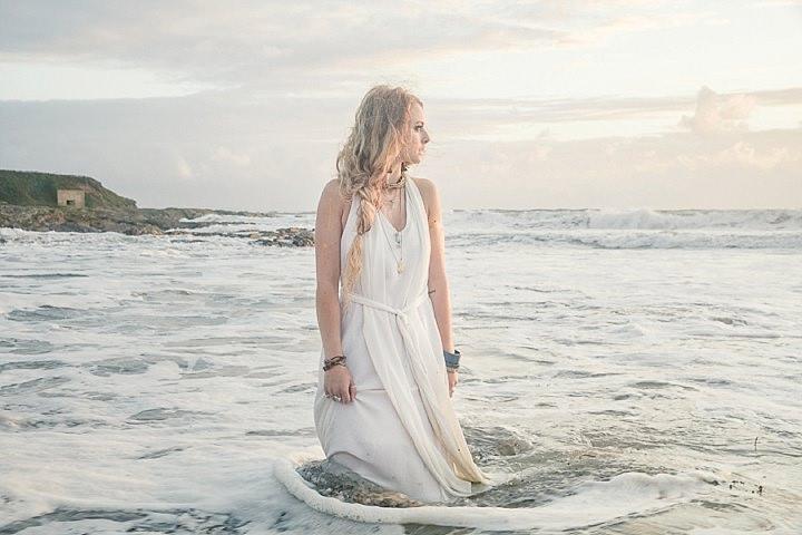 Outdoors Bohemian by the sea Beach Wedding Inspiration