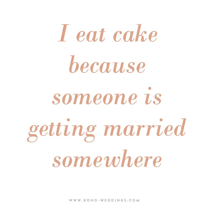 boho's best bits best wedding blogs - best quote