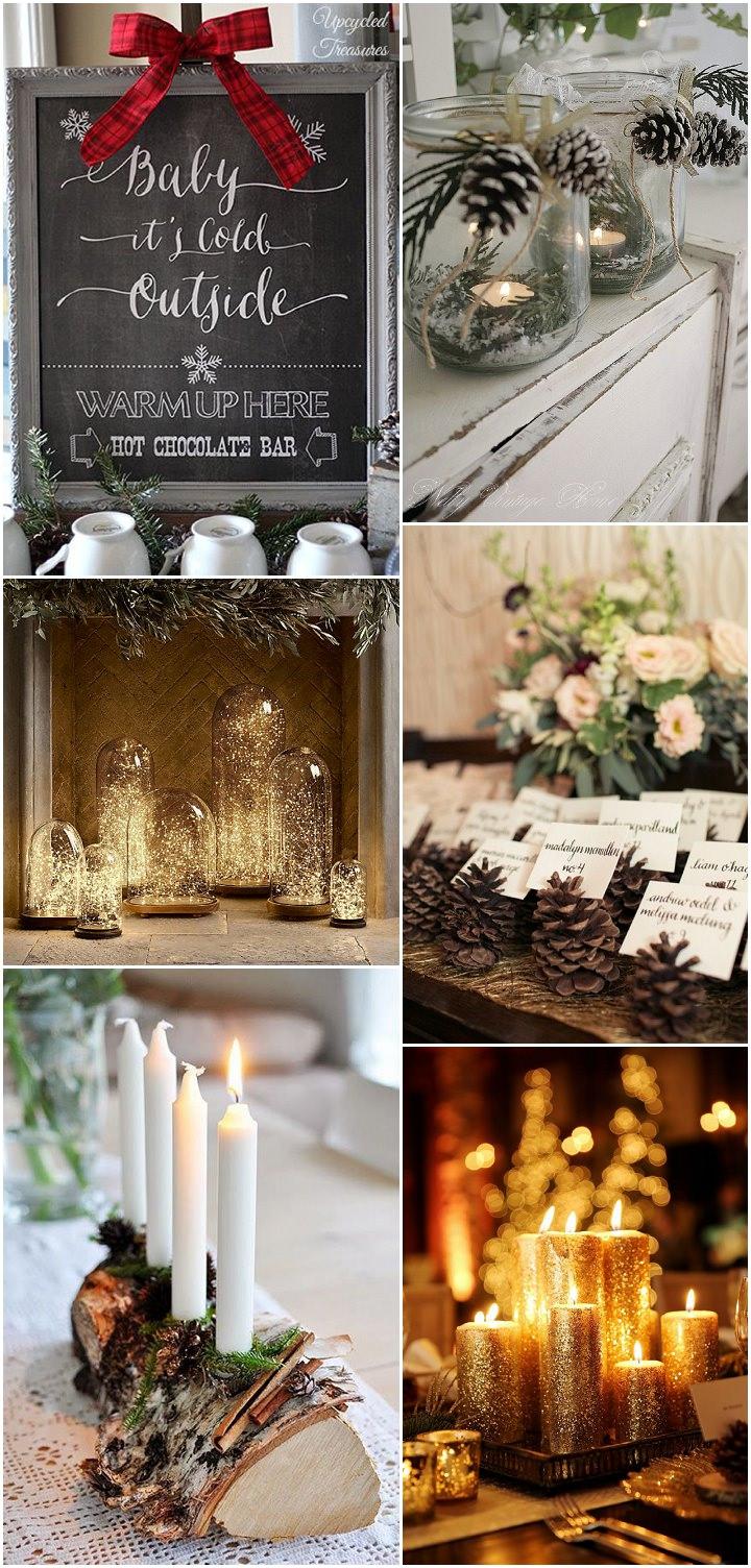 winter wedding - details