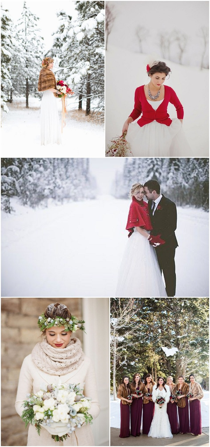 winter wedding - outfits