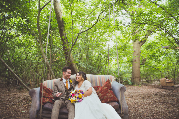 Bethany and Justin's Woodland Kent Wedding By Sasha Weddings
