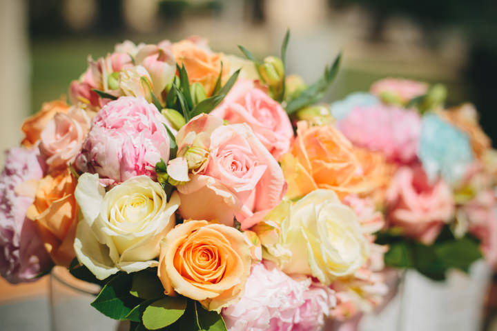 Algarve Wedding Flowers By Ana Parker Photography