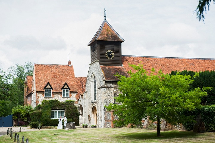 Handmade Berkshire Wedding church ceremony By Source Images