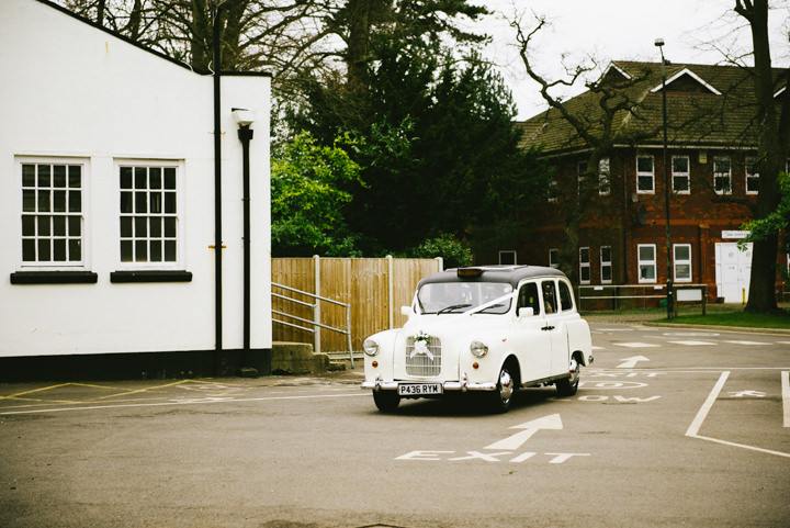 Wedding at Pinewood Studios wedding transport