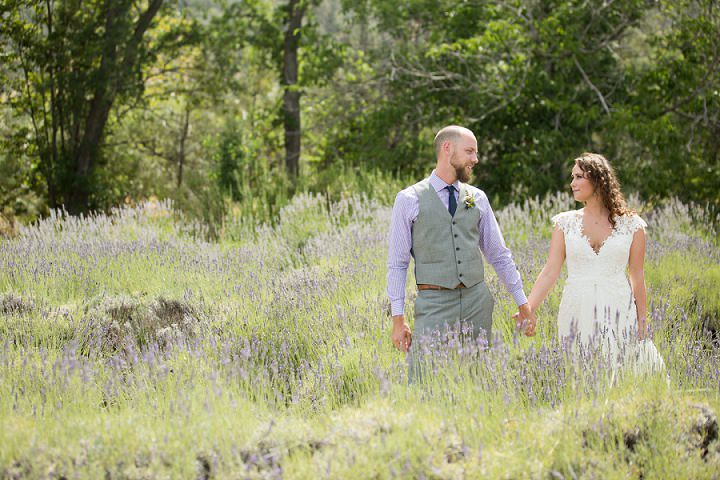 Bohemian California Wedding bride and groom By Images By Lori