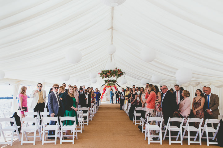 Bournemouth Beach Ceremony Setting Wedding By Paul Underhill Photography