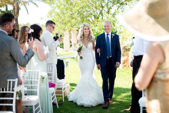 Ibiza Wedding bride and groom By Gypsy Westwood Photography