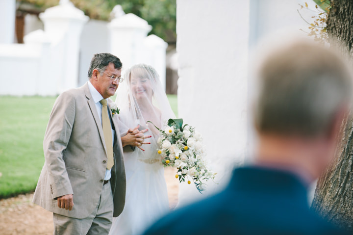 Natural South African Outdoor Wedding