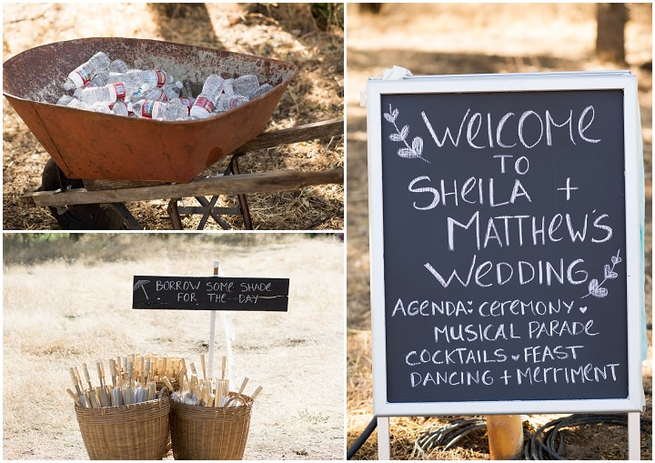 Bohemian California Wedding signs By Images By Lori