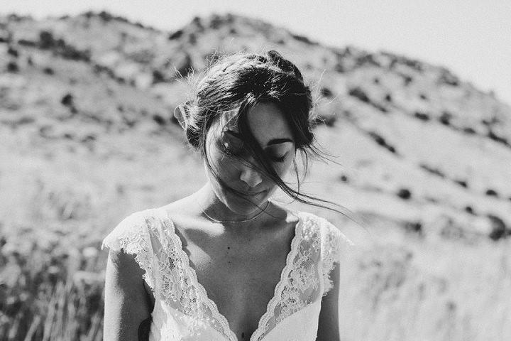 Bohemian Colorado Wedding Bride