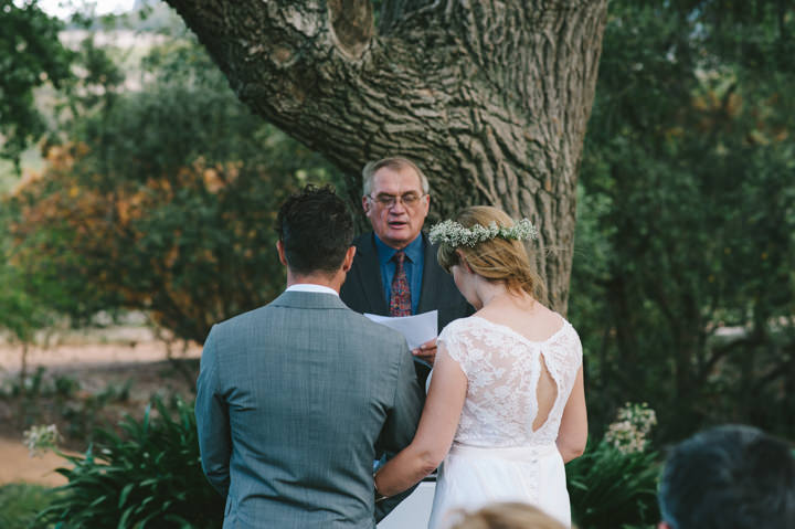 Natural South African Wedding ceremony