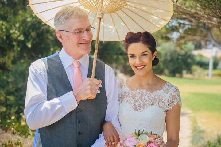 Algarve Wedding bride By Ana Parker Photography