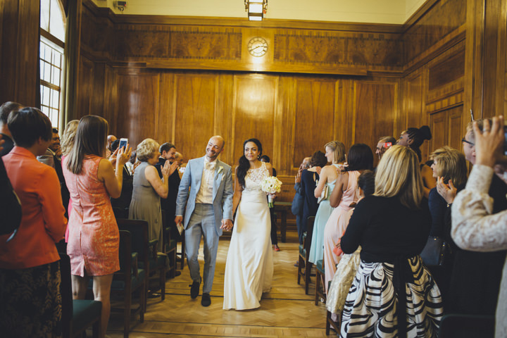 London Wedding just married at The Hoxton Arches By Tracey Hosey Photography