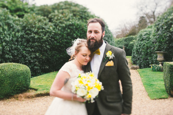 Wedding at Pinewood Studios yellow themed wedding