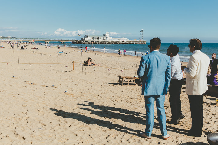 Bournemouth Beach Wedding Guests By Paul Underhill Photography