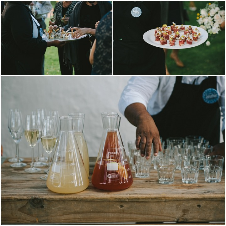 Natural South African Wedding Canopes