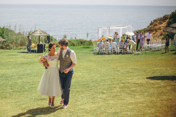 Algarve couple just married Wedding By Ana Parker Photography