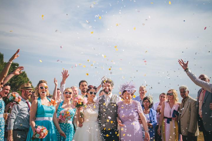 Algarve confetti Wedding By Ana Parker Photography