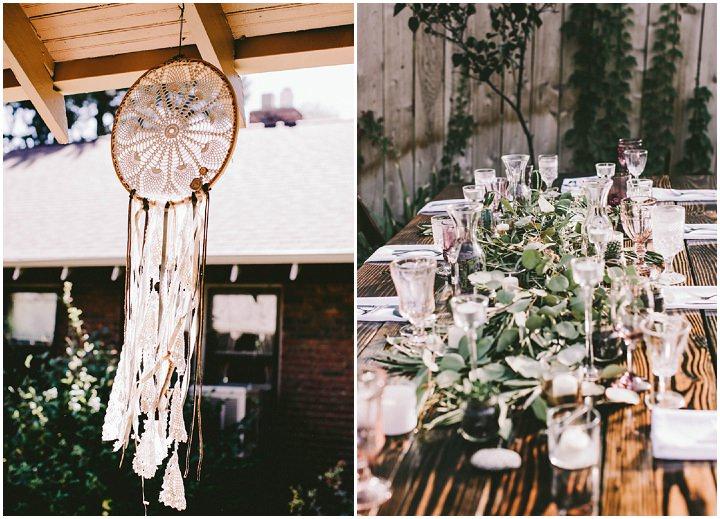 Bohemian Colorado Wedding dreamcatcher