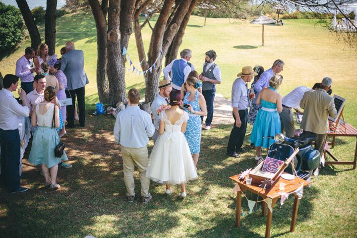 Algarve Wedding couple By Ana Parker Photography