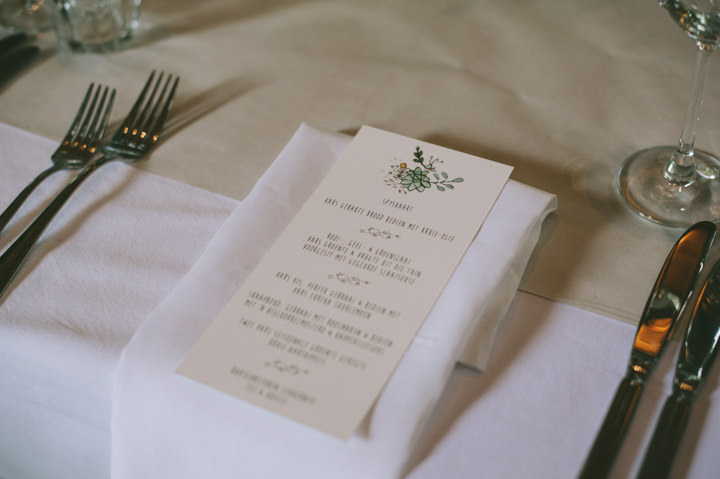 Natural South African Wedding food