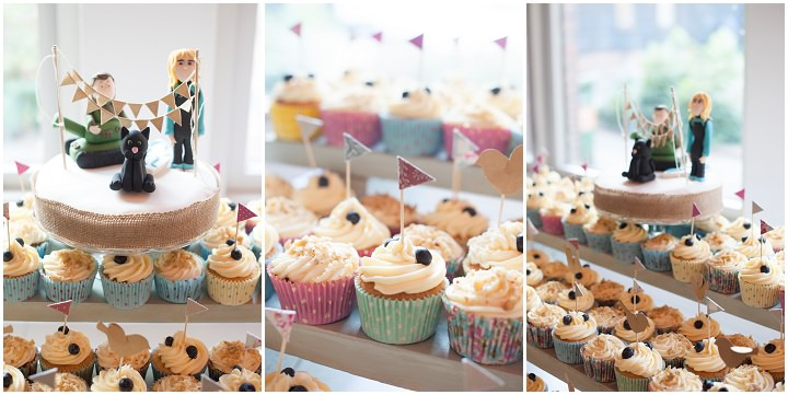 Handmade Berkshire Wedding cupcakes By Source Images