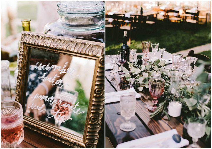 Bohemian Colorado Wedding details
