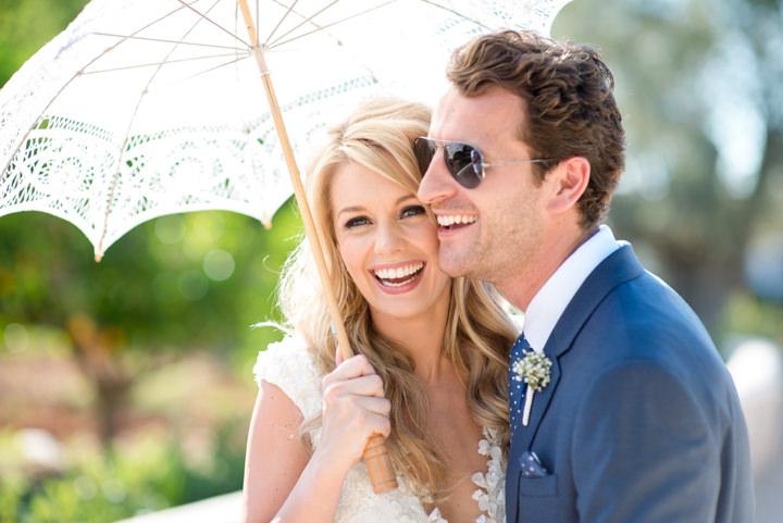 Ibiza Wedding happy bride By Gypsy Westwood Photography