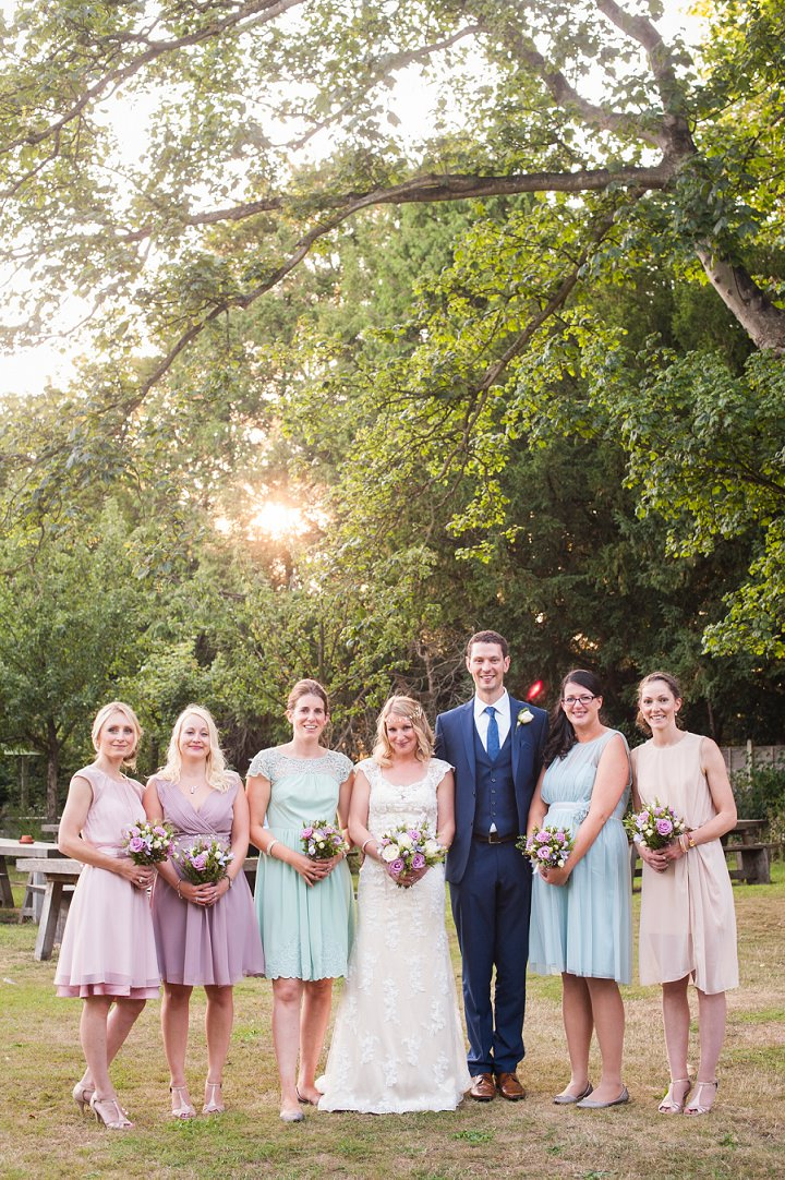 Handmade Berkshire Wedding bridal party By Source Images