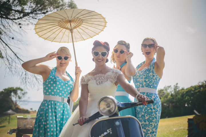 Algarve Wedding bridal party By Ana Parker Photography