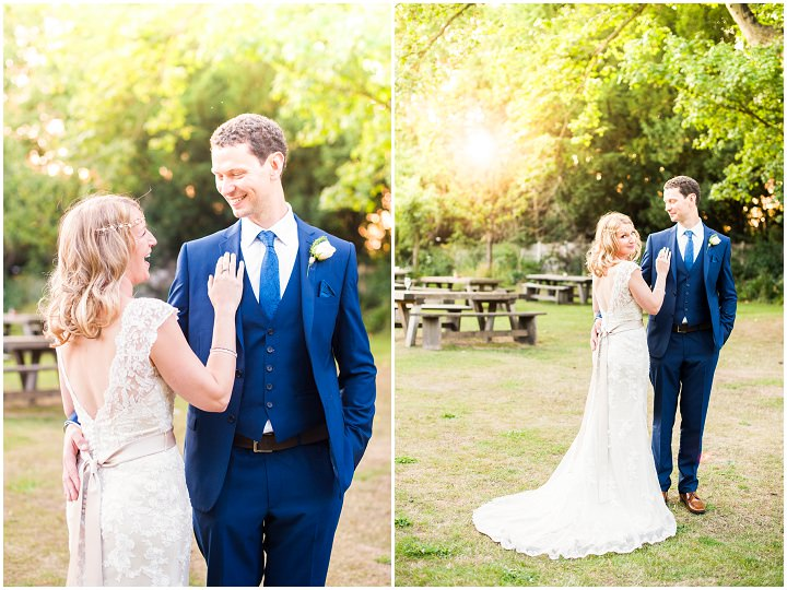 Handmade Berkshire Wedding brid and groom By Source Images