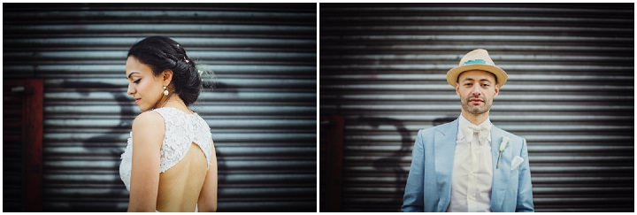 London Wedding portraits at The Hoxton Arches By Tracey Hosey Photography