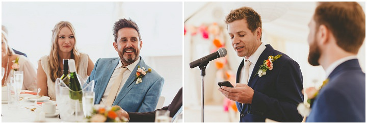 Bournemouth Beach Wedding speeches By Paul Underhill Photography